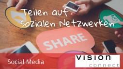Socialmedia teilen auf sozialen Netzwerken