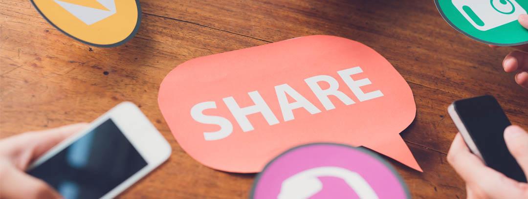 Socialmedia teilen auf sozialen Netzwerken was ist zu beachten