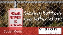 Socialmedia sharing buttons und Datenschutz