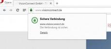 HTTPS Verbing über SSL