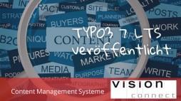 CMS TYPO3 7 LTS verfügbar