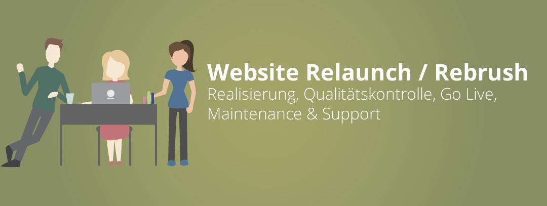 Relaunch oder Rebrush einer Webseite Teil 3