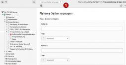 TYPO3 Handbuch v. 8 LTS - Modul WEB > Funktionen