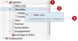 TYPO3 Handbuch v. 8 LTS - Seite verschieben