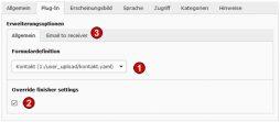 TYPO3 v8 Handbuch - INhaltsty Form
