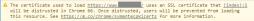 Warnhinwesi SSL HTTPS Chrome Symantic